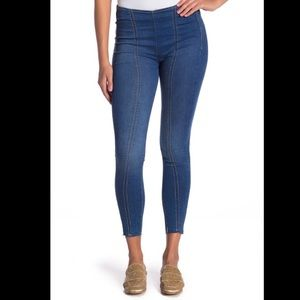 free people Seamed Stretch High Rise Skinny Jeans